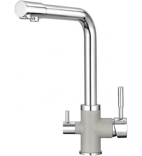Кухонный смеситель Granula GR-3015 Базальт