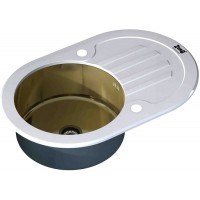Кухонная мойка Zorg GL 7851 OV White Bronze