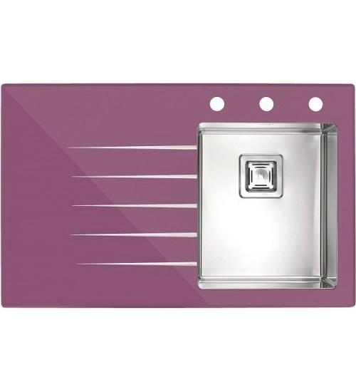 Мойка Alveus Crystalix 10 R Фиолетовый