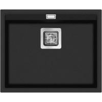 Кухонная мойка Aquasanita Delicia SQD 100 Black metallic