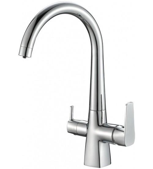 Кухонный смеситель Zorg Steel Hammer SH 819 Хром