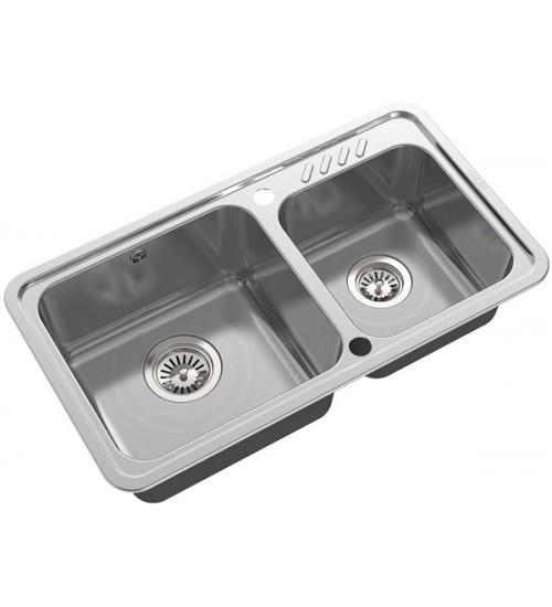 Кухонная мойка Oulin OL-H9903 Нержавеющая сталь