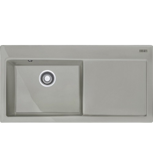 Кухонная мойка Franke Mythos MTK 611-100 L Жемчужный серый
