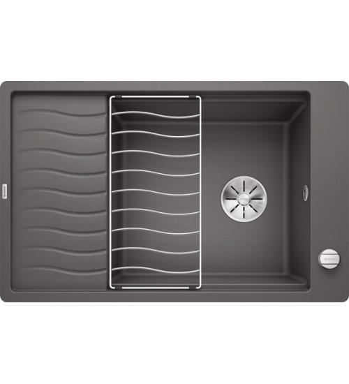 Кухонная мойка Blanco Elon XL 6 S-F Темная скала