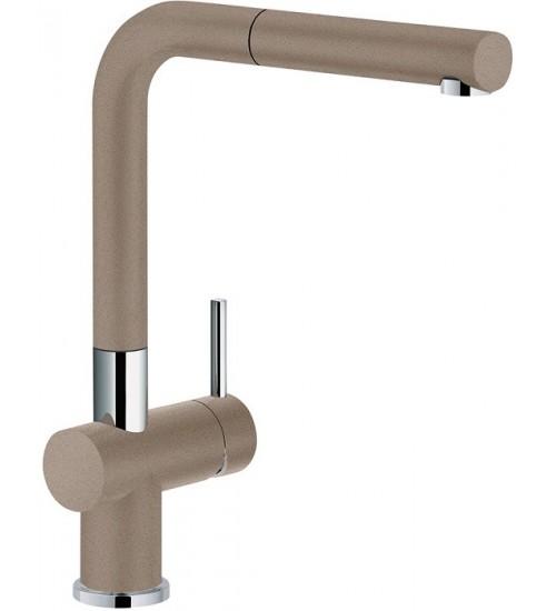 Кухонный смеситель Franke Active Plus Миндаль (Выдвижной душ)