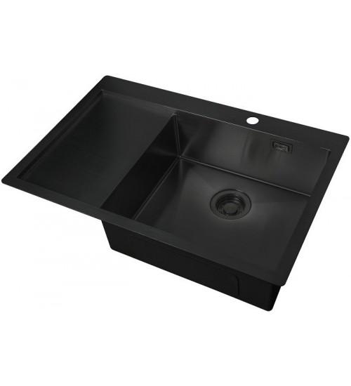 Кухонная мойка Zorg ZL R 780510 R Grafit