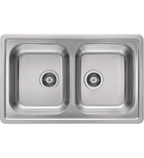 Кухонная мойка Alveus Elegant 40 Нержавеющая сталь декор 1009385