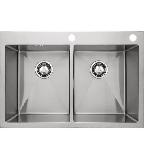 Кухонная мойка Seaman Eco Marino SMB-7651DS, вентиль-автомат