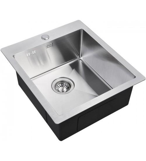 Кухонная мойка Zorg R 4551 Матовая сталь