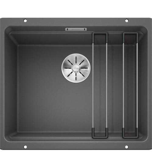 Кухонная мойка Blanco Etagon 500-U Темная скала