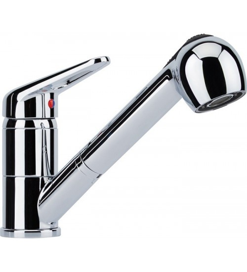 Кухонный смеситель Franke Novara Plus Хром (Выдвижной душ)