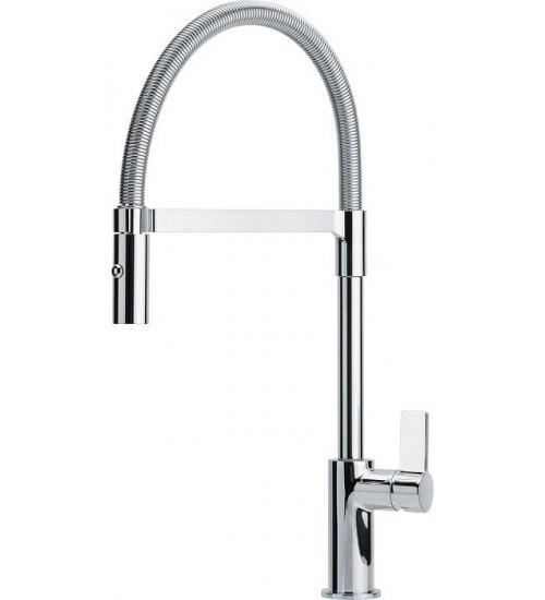 Кухонный смеситель Franke Ambient Semi-Pro Хром (Выдвижной душ)