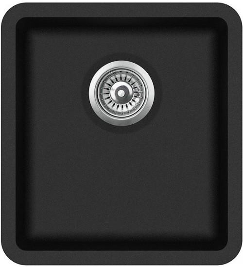 Кухонная мойка Aquasanita Arca SQA 101 Black metallic