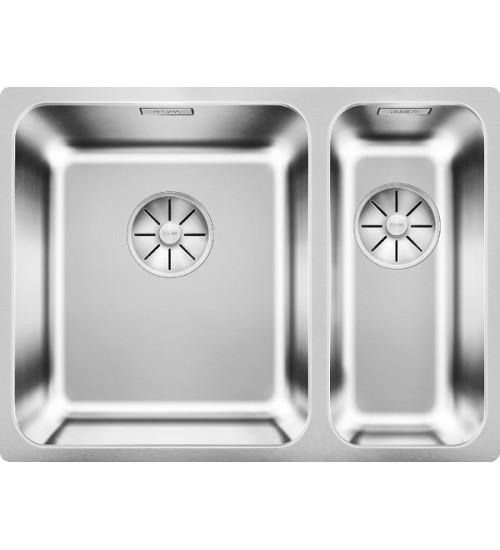 Кухонная мойка Blanco Solis 340/180-U Нержавеющая сталь полированная (чаша слева)