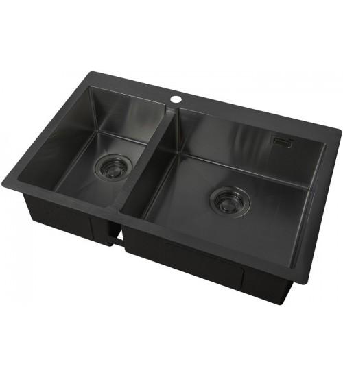 Кухонная мойка Zorg ZL R 780-2-510 R Grafit